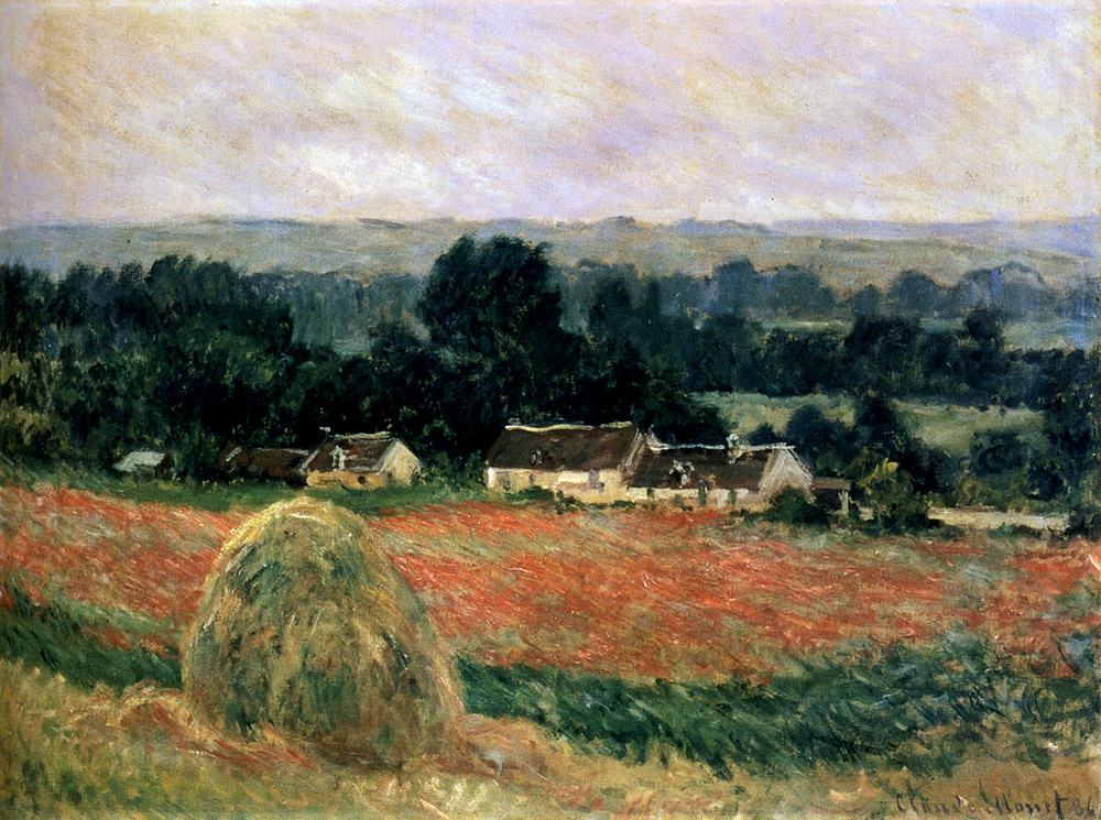 Claude Monet Haystack At Giverny
