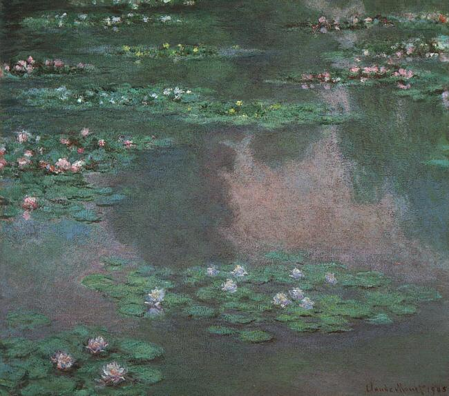 Claude Monet Monet Water Lillies I