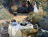 Monet The Luncheon