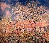 Claude Monet Springtime At Giverny painting