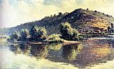 Famous Port Paintings - The Seine At Port-Villez
