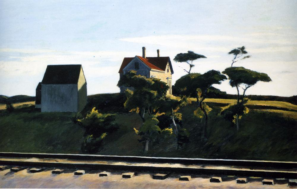 Edward Hopper New York New Haven and Hartford