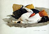 Edward Hopper Canvas Paintings - Reclining Nude
