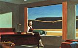 Edward Hopper Western Motel painting