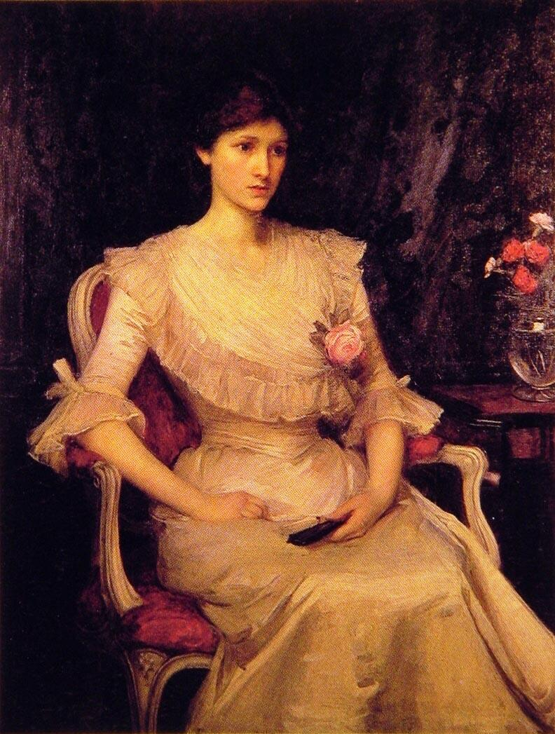 John William Waterhouse Miss Margaret Henderson