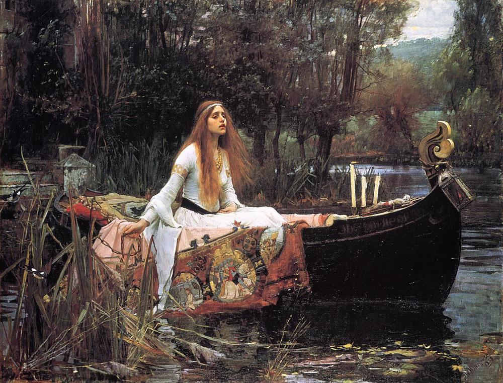 John William Waterhouse The Lady of Shalott