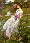 John William Waterhouse - Waterhouse Windswept