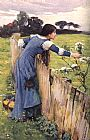 waterhouse The Flower Picker