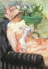 Mary Cassatt Canvas Paintings - The Cup of Tea